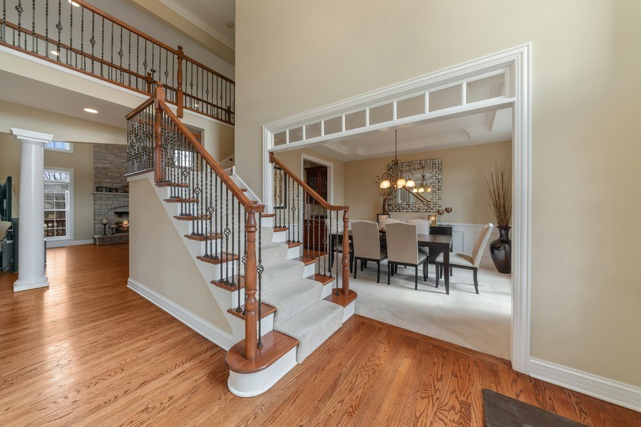 Real Estate Photography - 3012 Glacier Court, St. Charles, IL, 60174 - Foyer