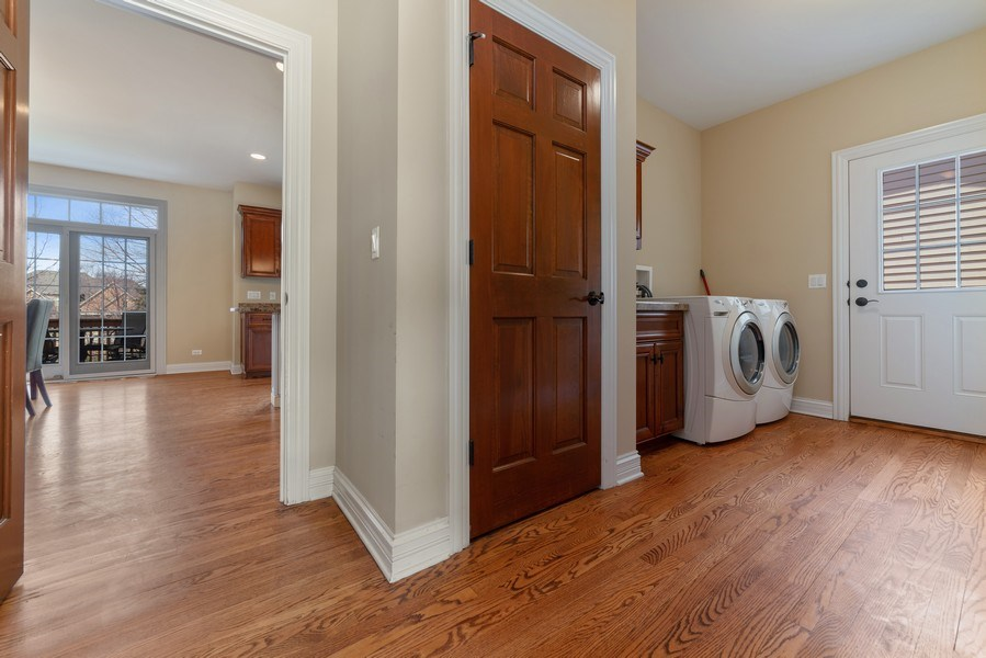 Real Estate Photography - 3012 Glacier Court, St. Charles, IL, 60174 - Laundry Room