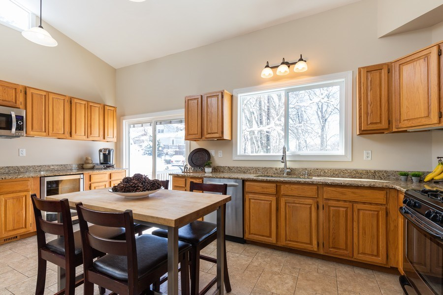 Real Estate Photography - 28657 W. Benjamin Avenue, Spring Grove, IL, 60081 - Kitchen