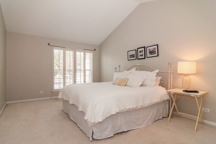 Real Estate Photography - 1366 Georgetown Drive, Batavia, IL, 60510 - Master Bedroom