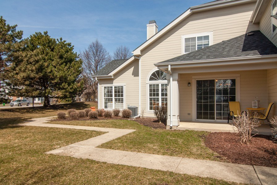 Real Estate Photography - 1366 Georgetown Drive, Batavia, IL, 60510 - Side View