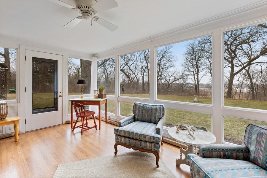 Real Estate Photography - 270 North IL Route 59, North Barrington, IL, 60010 - Sunroom