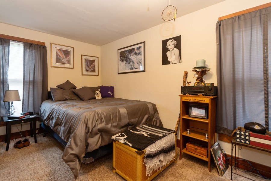 Real Estate Photography - 25608 Black Road, Shorewood, IL, 60404 - Bedroom