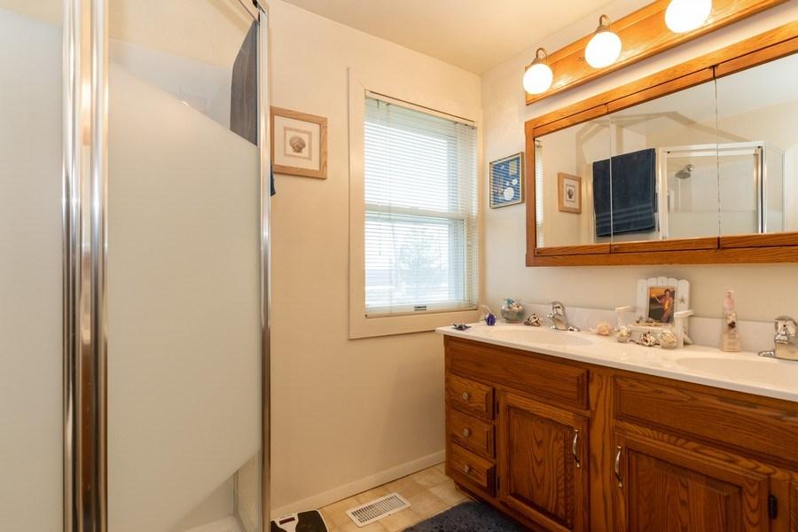 Real Estate Photography - 25608 Black Road, Shorewood, IL, 60404 - Bathroom