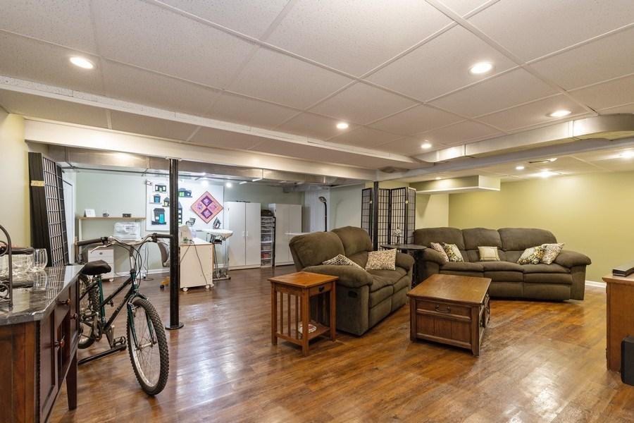 Real Estate Photography - 2929 W. Bonnie Brook Lane, Waukegan, IL, 60087 - Basement
