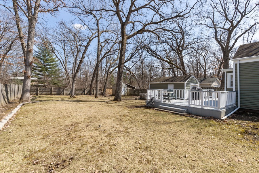 Real Estate Photography - 2929 W. Bonnie Brook Lane, Waukegan, IL, 60087 - Back Yard
