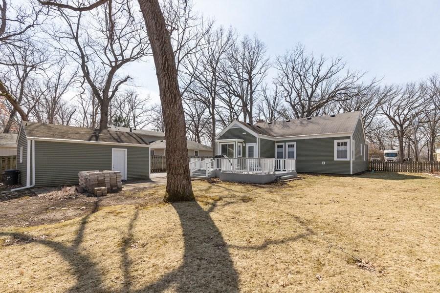 Real Estate Photography - 2929 W. Bonnie Brook Lane, Waukegan, IL, 60087 - Rear View
