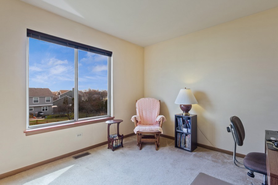 Real Estate Photography - 313 N. Southport Road, Mundelein, IL, 60060 - 3rd Bedroom