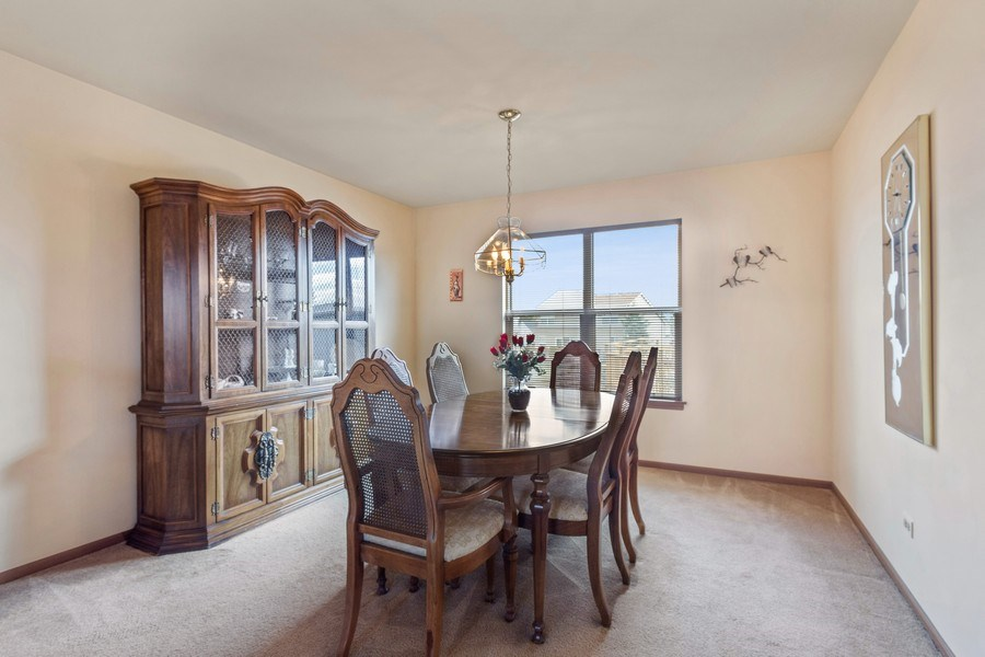 Real Estate Photography - 313 N. Southport Road, Mundelein, IL, 60060 - Dining Room