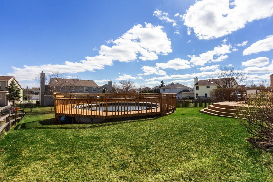 Real Estate Photography - 313 N. Southport Road, Mundelein, IL, 60060 - Back Yard