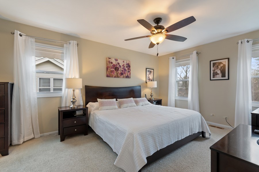 Real Estate Photography - 471 Sunnybrook Lane, Wheaton, IL, 60187 - Master Bedroom