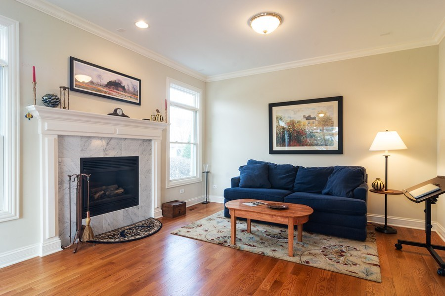 Real Estate Photography - 887 S. Plum Grove Road, Palatine, IL, 60067 - Living Room