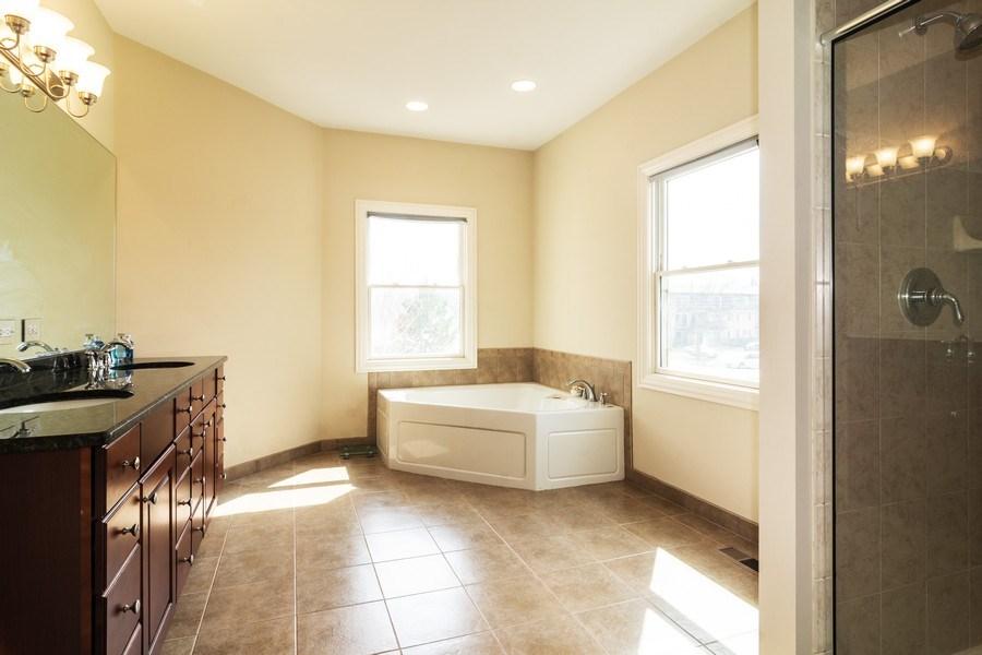 Real Estate Photography - 887 S. Plum Grove Road, Palatine, IL, 60067 - Master Bathroom
