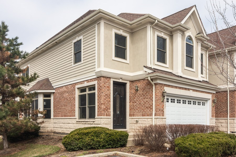 Real Estate Photography - 887 S. Plum Grove Road, Palatine, IL, 60067 - Front View