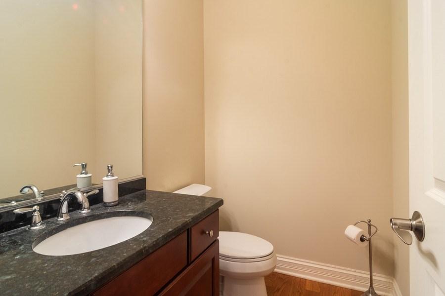 Real Estate Photography - 887 S. Plum Grove Road, Palatine, IL, 60067 - Half Bath