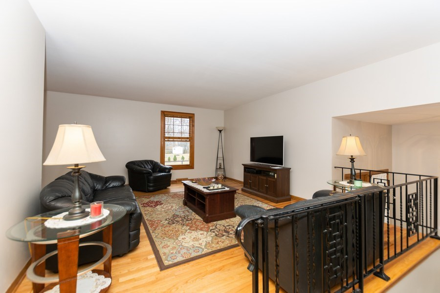 Real Estate Photography - 722 Maple Lane, Darien, IL, 60561 - Living Room