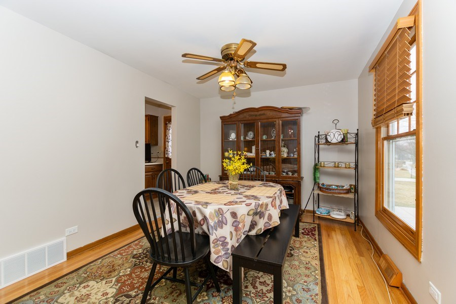 Real Estate Photography - 722 Maple Lane, Darien, IL, 60561 - Dining Room