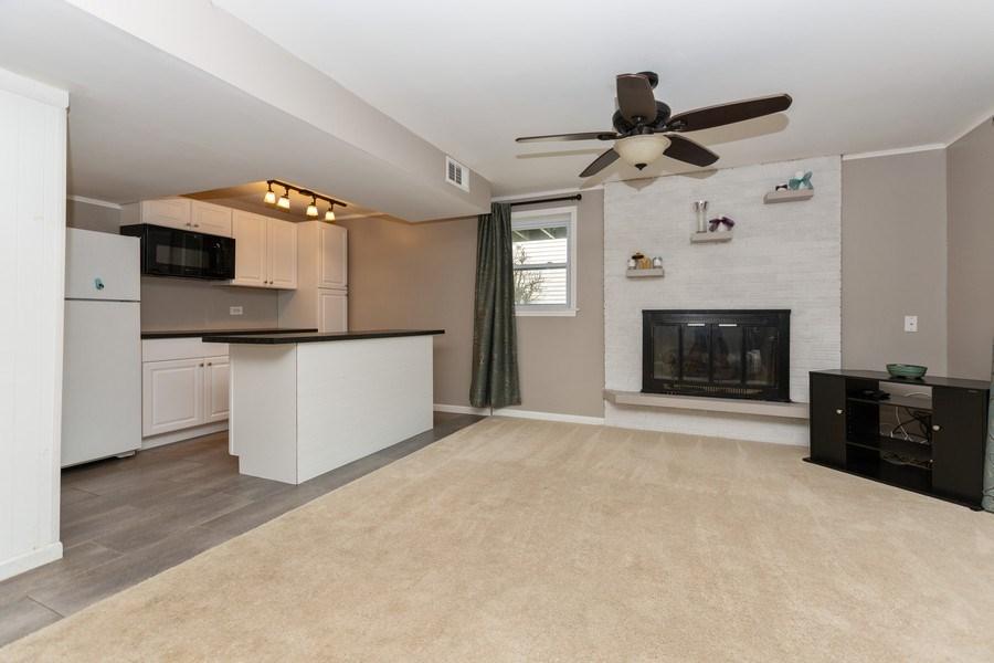 Real Estate Photography - 722 Maple Lane, Darien, IL, 60561 - Family Room