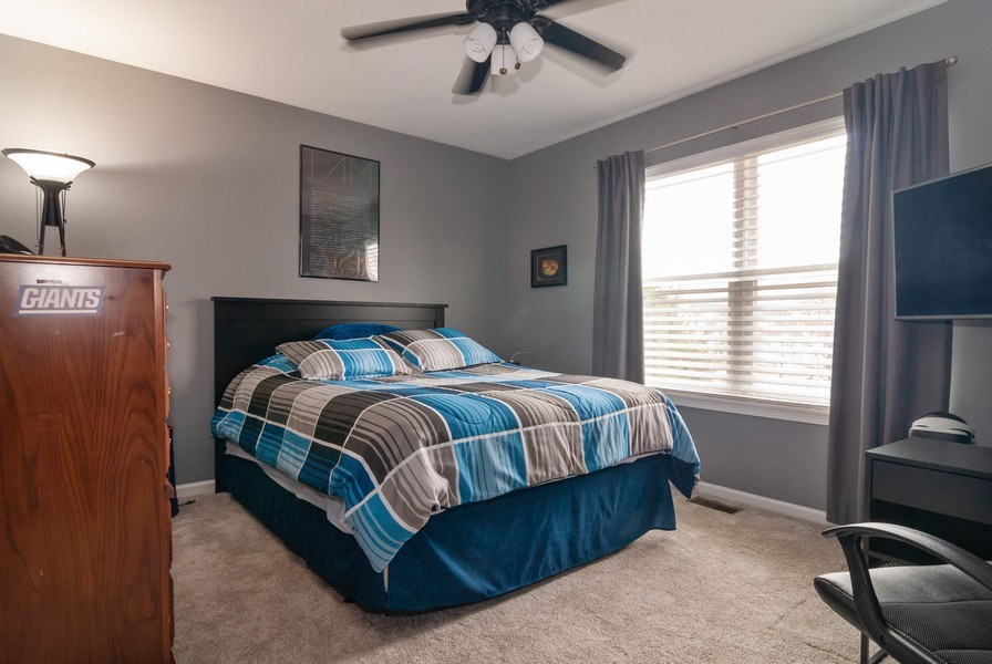 Real Estate Photography - 2472 Bayhill Court, Aurora, IL, 60503 - 2nd Bedroom
