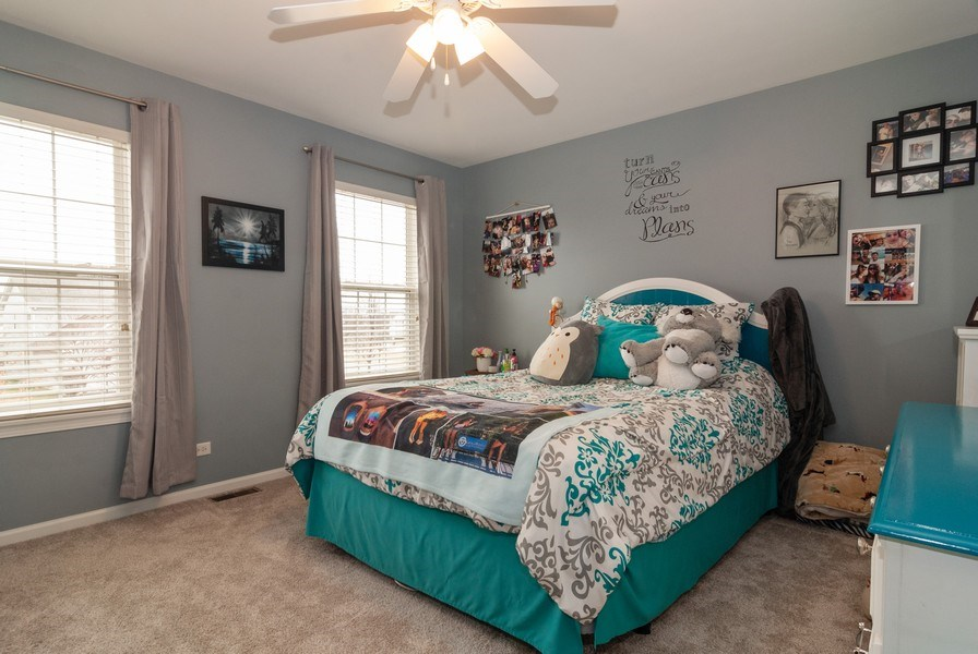 Real Estate Photography - 2472 Bayhill Court, Aurora, IL, 60503 - 4th Bedroom