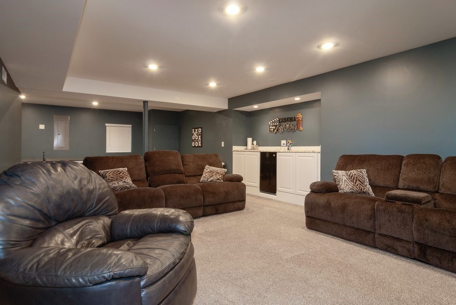Real Estate Photography - 2472 Bayhill Court, Aurora, IL, 60503 - Basement