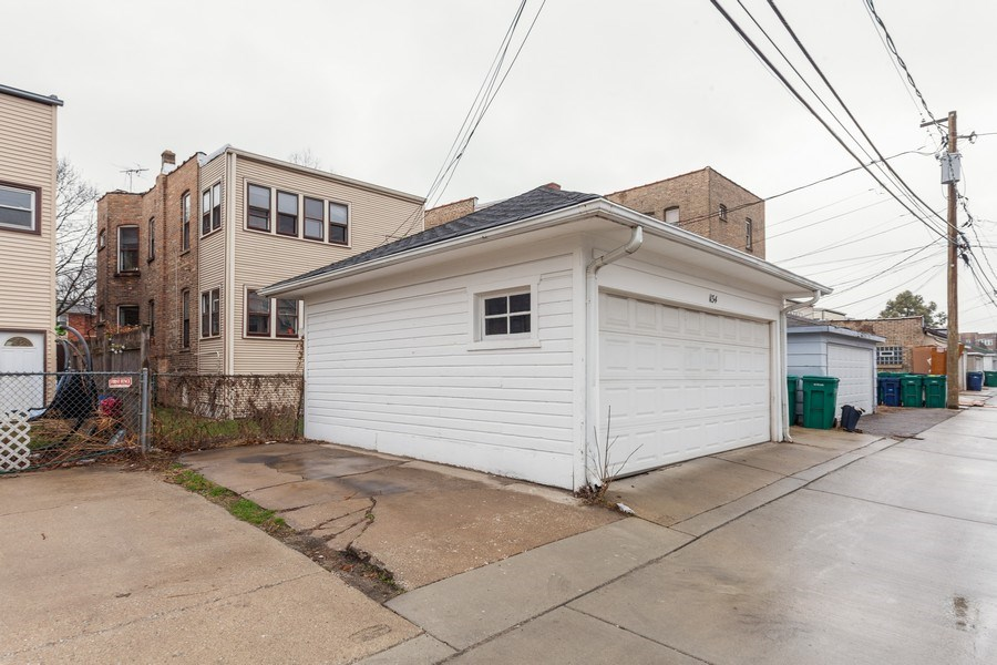 Real Estate Photography - 1134 S. Oak Park Avenue, Oak Park, IL, 60304 - Garage and additional parking space - 2 of 2