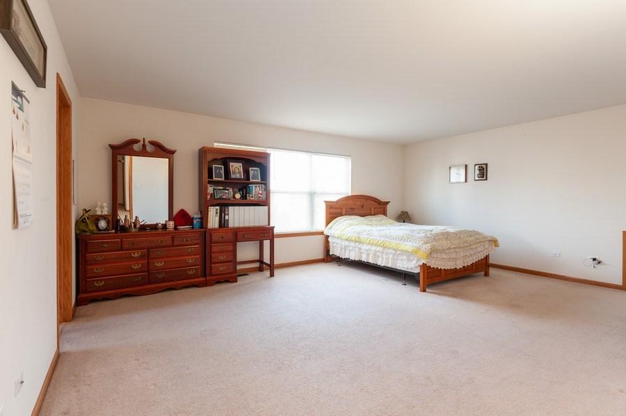 Real Estate Photography - 1910 Marigold Lane, Round Lake, IL, 60073 - Master Bedroom