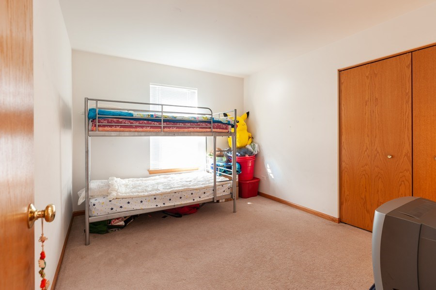 Real Estate Photography - 1910 Marigold Lane, Round Lake, IL, 60073 - 2nd Bedroom