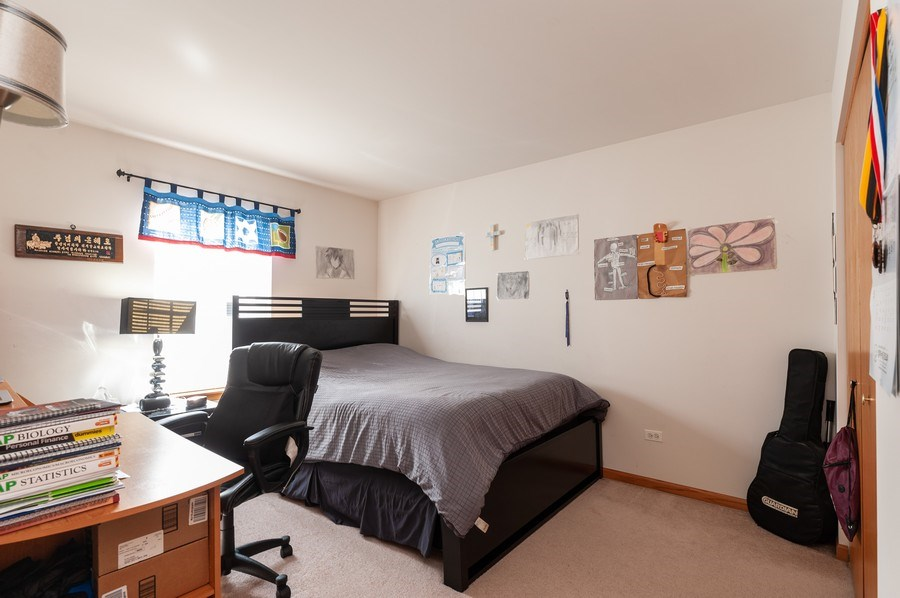 Real Estate Photography - 1910 Marigold Lane, Round Lake, IL, 60073 - 3rd Bedroom