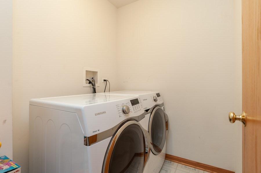 Real Estate Photography - 1910 Marigold Lane, Round Lake, IL, 60073 - Laundry Room