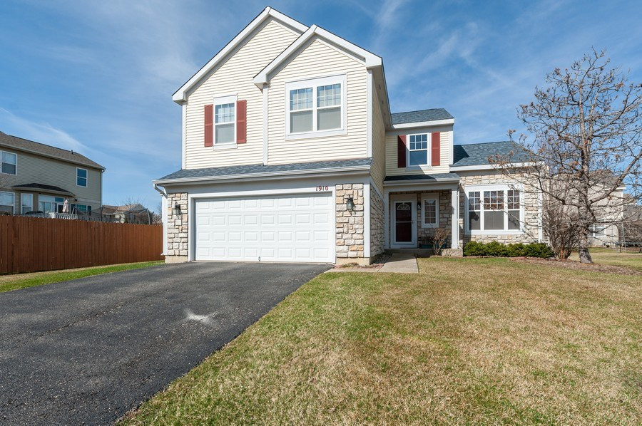 Real Estate Photography - 1910 Marigold Lane, Round Lake, IL, 60073 - Front View
