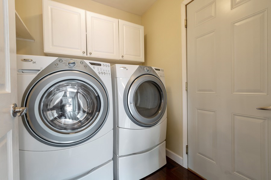 Real Estate Photography - 1555 Camelot Lane, Hoffman Estates, IL, 60010 - Laundry Room