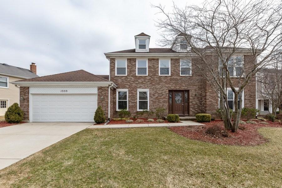 Real Estate Photography - 1555 Camelot Lane, Hoffman Estates, IL, 60010 - Front View