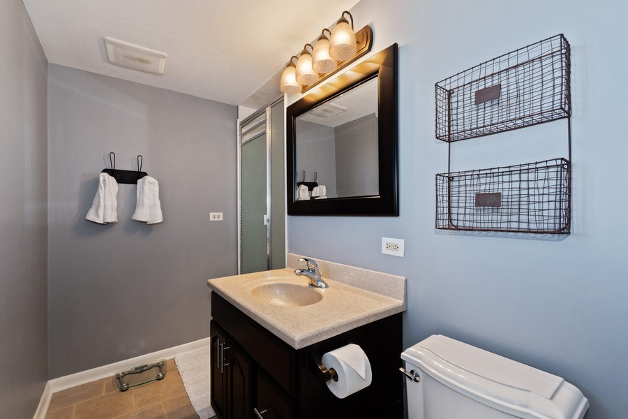 Real Estate Photography - 920 Royal St. George Drive, Naperville, IL, 60563 - Master Bathroom