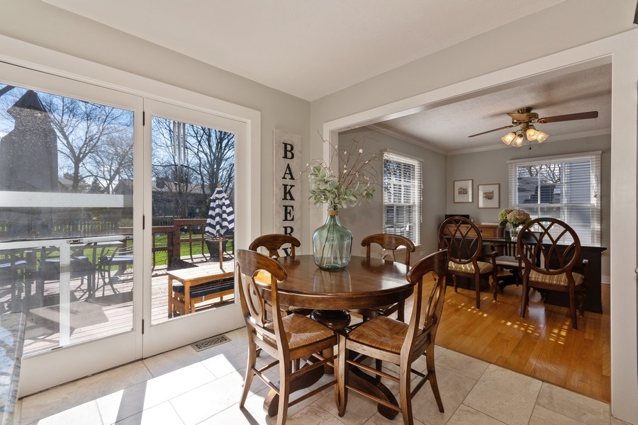 Real Estate Photography - 920 Royal St. George Drive, Naperville, IL, 60563 - Breakfast Nook