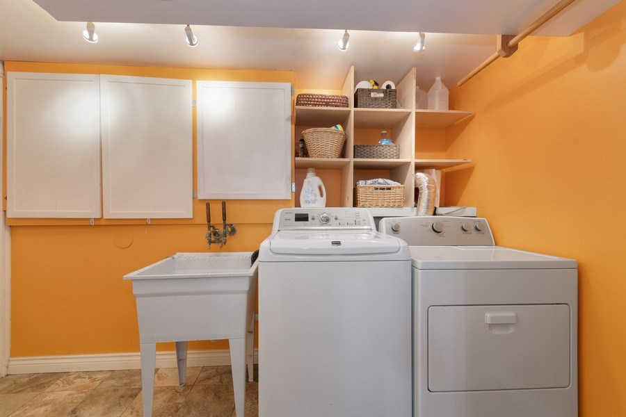 Real Estate Photography - 2421 62nd Street, Downers Grove, IL, 60516 - Laundry Room