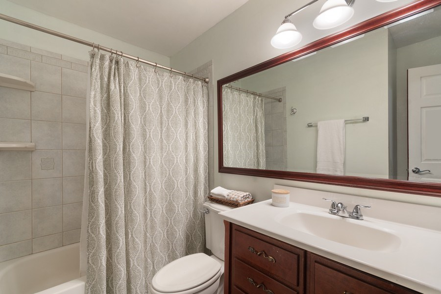 Real Estate Photography - 2421 62nd Street, Downers Grove, IL, 60516 - 2nd Bathroom