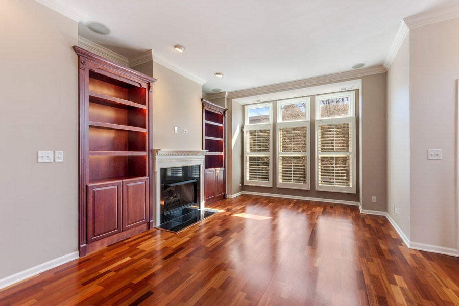 Real Estate Photography - 124 N. Rose Street, Palatine, IL, 60067 - Living Room