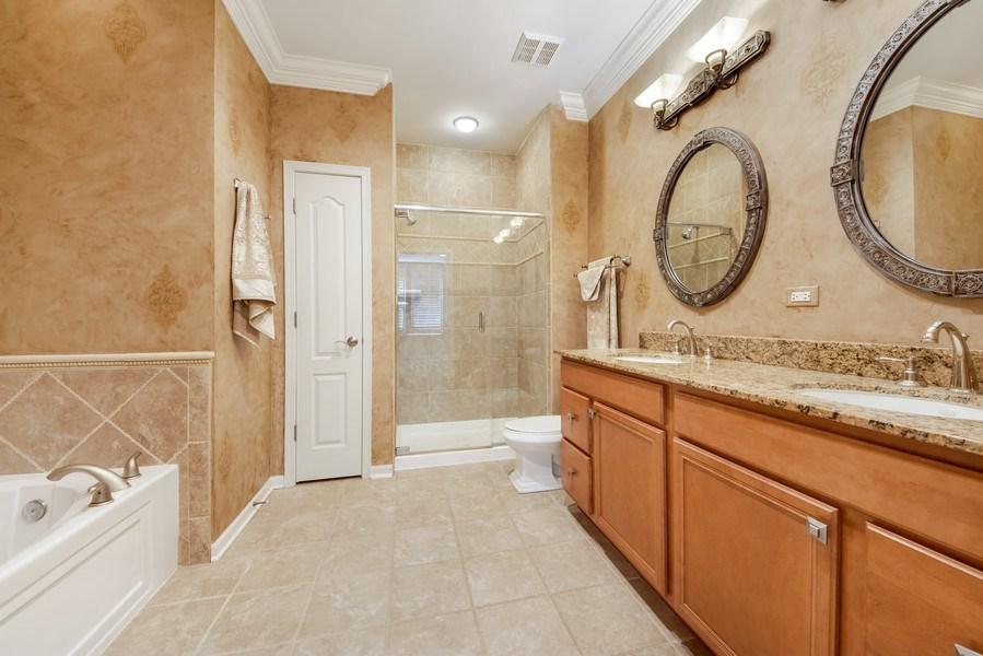 Real Estate Photography - 124 N. Rose Street, Palatine, IL, 60067 - Master Bathroom