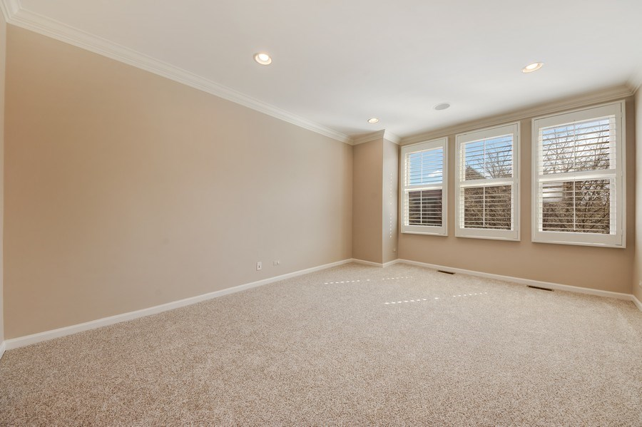 Real Estate Photography - 124 N. Rose Street, Palatine, IL, 60067 - Master Bedroom