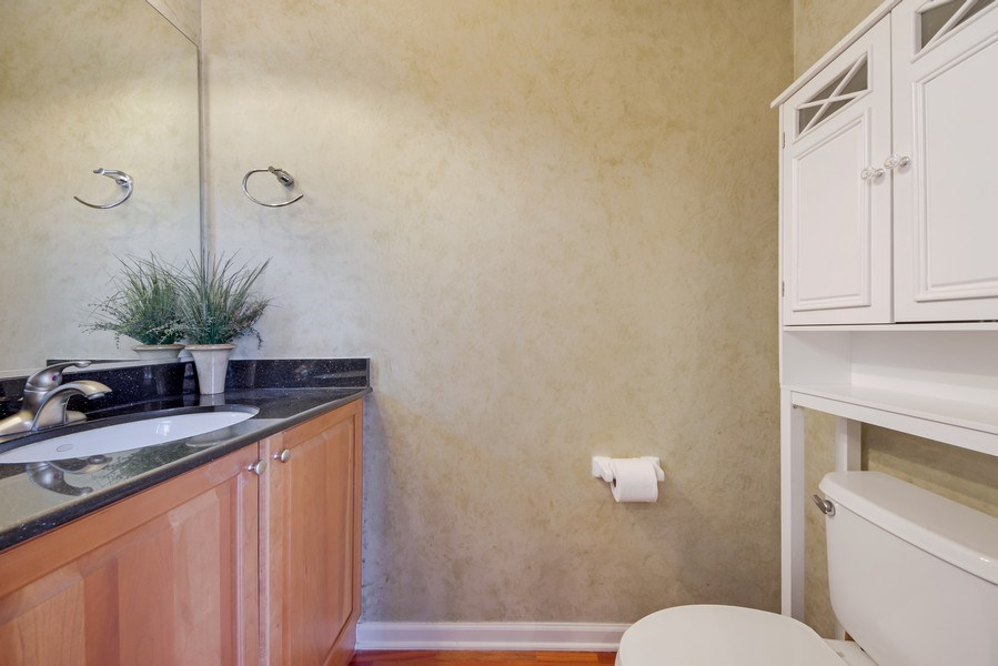 Real Estate Photography - 124 N. Rose Street, Palatine, IL, 60067 - Powder Room