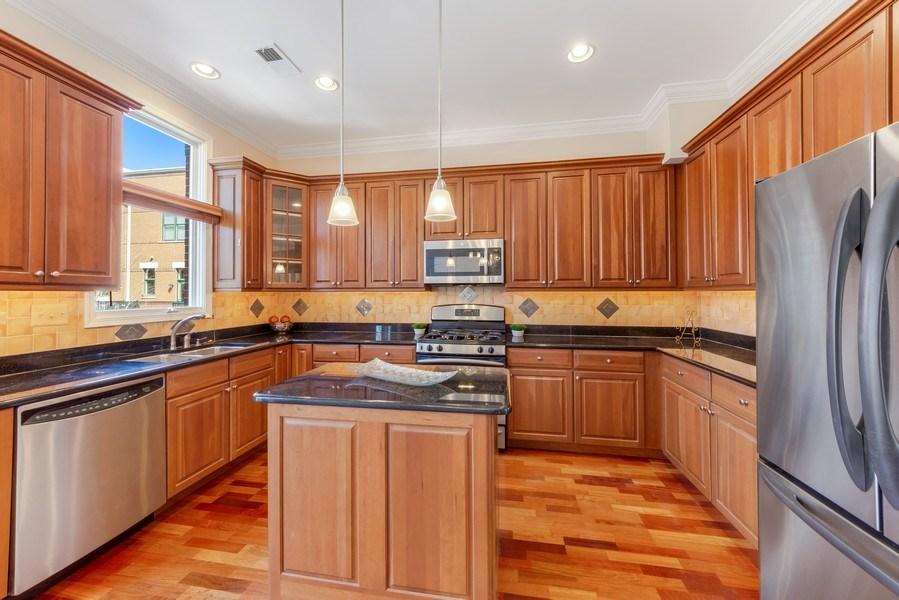Real Estate Photography - 124 N. Rose Street, Palatine, IL, 60067 - Kitchen