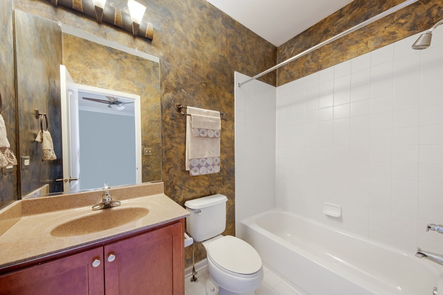 Real Estate Photography - 124 N. Rose Street, Palatine, IL, 60067 - 2nd Bathroom