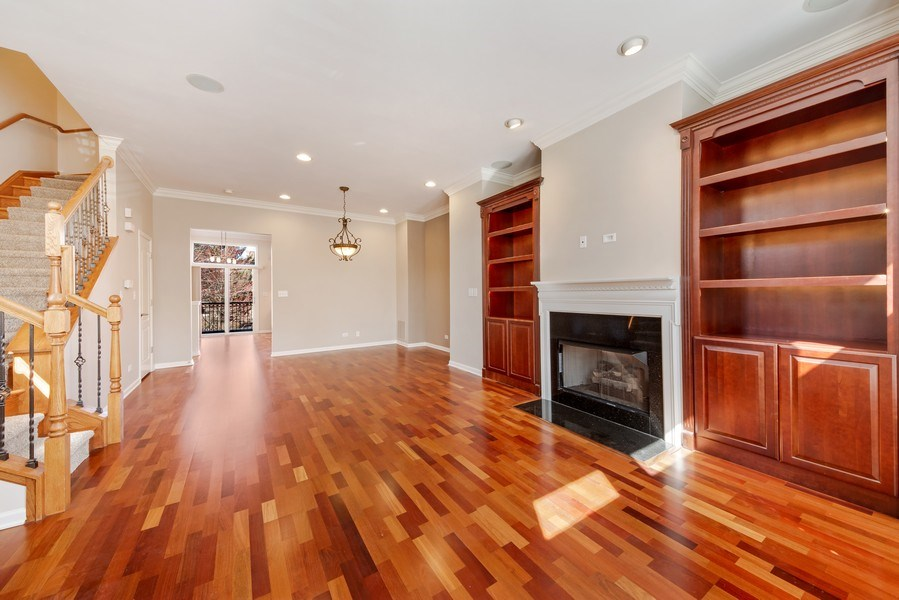 Real Estate Photography - 124 N. Rose Street, Palatine, IL, 60067 - Living Room / Dining Room