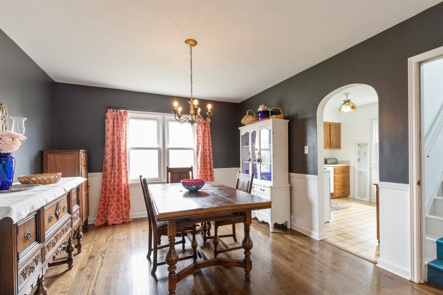 Real Estate Photography - 1041 Bishop Street, Antioch, IL, 60002 - Dining Room