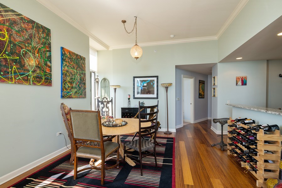 Real Estate Photography - 310 S. Michigan Avenue, Unit 2005, Chicago, IL, 60604 - Dining Room