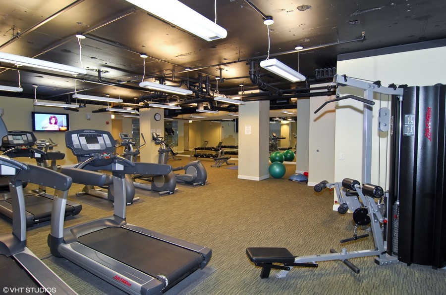 Real Estate Photography - 310 S. Michigan Avenue, Unit 2005, Chicago, IL, 60604 - Exercise Room