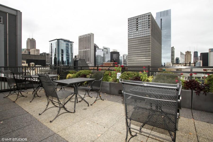Real Estate Photography - 310 S. Michigan Avenue, Unit 2005, Chicago, IL, 60604 - Roof Deck