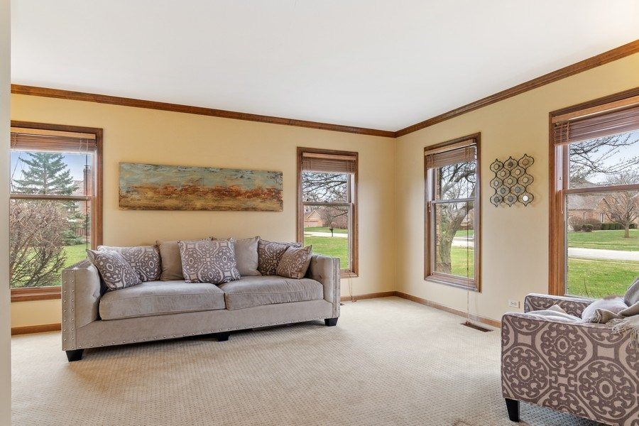 Real Estate Photography - 10803 Royal Porthcawl Drive, Naperville, IL, 60564 - Living Room