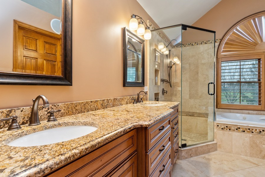 Real Estate Photography - 10803 Royal Porthcawl Drive, Naperville, IL, 60564 - Master Bathroom